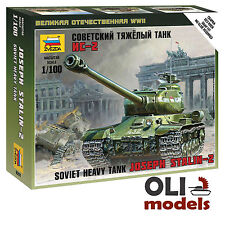 1/100 Soviet Joseph Stalin IS-2 Heavy Tank - Art of Tactic - Zvezda 6201