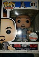 "GABRIEL ""FLUFFY"" IGLESIAS Funko Pop #01 Comedians + FREE SHIPPING/POP PROTECTOR!"