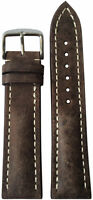 22x18 RIOS1931 for Panatime Distressed Brn Watch Strap w/Buckle for Breitling