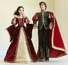 """Disney Store PLATINUM Snow White Prince Limited Edition 17"""" Doll LE Preorder"""