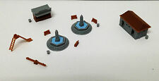 Outland Models Railway Park & Plaza Accessories Fountain Toilet... N Scale 1:160