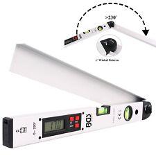 BGS DIGITALER LCD WINKELMESSER MIT WASSERWAGE 450 mm 0-220 GRADMESSER