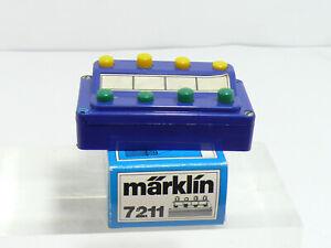 Märklin 7211 Control Desk Blue 1 Piece Boxed