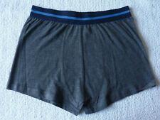 Boxer homme gris lingerie caleçon sous vêtement taille L/XL (40) neuf