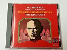 THE KING AND I [1977 Broadway Revival Reparto ] Original Banda Sonora (CD 1990
