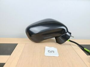2007 LEXUS IS220d DRIVER RIGHT SIDE O/S WING MIRROR POWERFOLDING grey