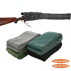 "54""/14"" Tactical Gun Socks Silicone Treated Rifle Sleeve Pistol Socks Shooting"
