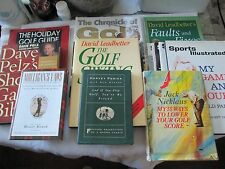 "20 Golf Books - ""My 55 Ways"" (Nicklaus) - ""My Game & Yours (Palmer) - Pelz, Etc."