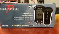 Prestige Aps997Z Two-Way Lcd Confirming Remote Start & Alarm 1-Mile Rang New