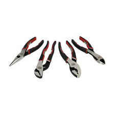 AIRCRAFT TOOLS CRAFTSMAN 4PC PLIER SET (SWAN NECK,CUTTERS, SLIP JOINT,LONGNOSE)