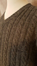 TIMBERLAND Man's Wool V-Neck Jumper Size: XL VERY GOOD Condition
