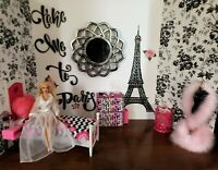 LARGE Wall Mirror Diorama Alex Gene  Kitty Coilier  Tonner Barbie FR Dolls