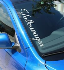 """F58 """"Volkswagen"""" Frontscheibenaufkleber 25 Farben zur Auswahl Aufkleber dapper"""