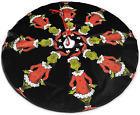 SCOTTA How The Grinch Stole Christmas Christmas Tree Skirt for Xmas Holiday Part
