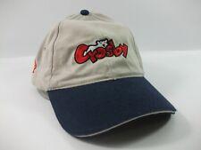 Crosby Hat Beige Blue Strapback Baseball Cap