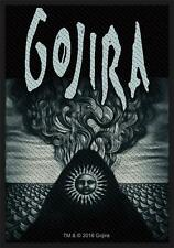 OFFICIAL LICENSED - GOJIRA - MAGMA SEW ON PATCH METAL