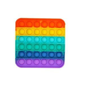 Push square Bubble Sensory Pop Fidget Toy Autism Special Need Stress Reliever