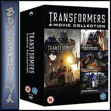 TRANSFORMERS - 1 2 3 & 4 FILM BOXSET **BRAND NEW DVD****
