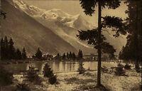 Chamonix Rhône-Alpes alte AK ~1920/30 Lac du Bouchet Mont Blanc Mountains Berge