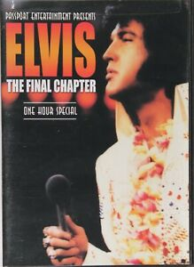 ELVIS The Final Chapter DVD  - NEW  - Out Of Print RARE - Free Post