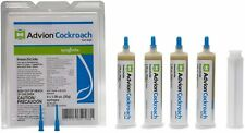 Syngenta Advion Roach Gel Bait - 4 Tubes with Plunger Brand New FREE SHIPPING