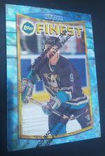 1994-95 Finest Paul Kariya Card 7 with Protector