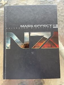 Mass Effect 3 - Collector's Edition Strategy Guide Hardcover - USED Fair Cond