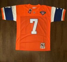 John Elway Denver Broncos Throwback Mens Jersey Size 60 Free Ship (O)