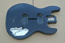 BACK IN BLACK! VINTAGE PEAVEY T-40 ASH BASS BODY for YOUR PROJECT or NECK! #E322