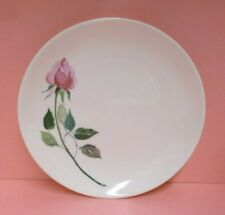 "Cunningham & Pickett RHYTHMS Dubarry 6"" BREAD PLATE (Dubarry / Pink Rose)"