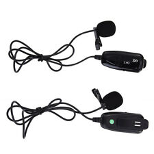 2.4G Lavalier Mic Wireless Microphone Voice Amplifier 40m For Teaching Meeting