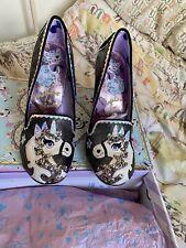 Irregular Choice Lady Misty Unicorn Perspex Heel Brand New In Box Size 39