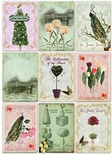 Topiary Tree Selection - Glossy Finish Card Toppers - Crafts Embellishment