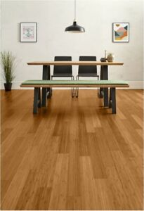 Style Caramel Solid Bamboo Flooring 2.21m2 Pack (£19.80 per m2) SAVE 40% OFF RRP