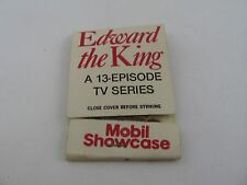 Vintage Matchbook: 1979 Edward the King TV Series Mobil Showcase