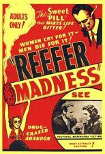 Reefer Madness 1936 Movie Poster Print 24x36