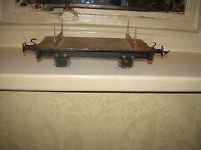 Hand Made/Kit Built 32mm. Gauge Garden R/Way Bolster Wagon