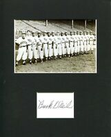 Buck O'Neil Kansas City Monarchs Negro League Chicago Cubs Signed Photo Display