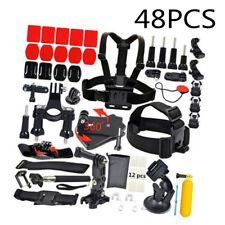 Set Accessories Kit Bundle Head Strap Mount Fit For GoPro Hero 7 6 5 4 3 2 1 Cam