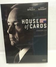 HOUSE OF CARDS - STAGIONI 1-4 - COFANETTO DVD