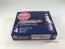 4 PCS NGK Iridium IX Spark Plugs BKR7EIX Part# 2667 OEM UPGRADE More Power Japan