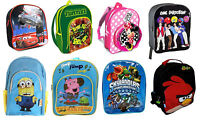 Kids Disney and Character School Backpack Rucksack Bag Stationery New Design