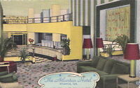Postcard The Atlantan Hotel Atlanta GA
