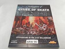 WARHAMMER 40k EXPANSIONS CITIES of DEATH rulebook  (ARW 90)