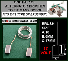 12VOLT BOSCH ALTERNATOR BRUSHES BRUSH SET & SOLDER BX1822  VOLVO VW MERCEDES