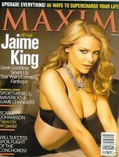 Maxim Magazine April 2008 Jamie King Sofia Vergara Scarlett Johansson
