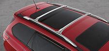 Genuine Nissan Pathfinder 2013-2017 Bright Silver Roof Rail Crossbars 2 pc NEW