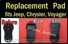fits Jeep Grand Cheeroke remote key FOB -  Replacement Silicone key Button Pad