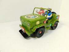 M&M Army USA Military Jeep Candy Dispenser Toy With Lights & Sound 2009 RARE
