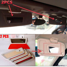 2X Sunshade Cosmetic Mirror Make-up Mirrors Fit For 07-18 Benz Smart Fortwo 451